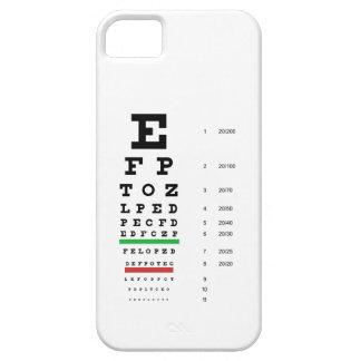 Snellen Eye Chart iPhone 5 Case