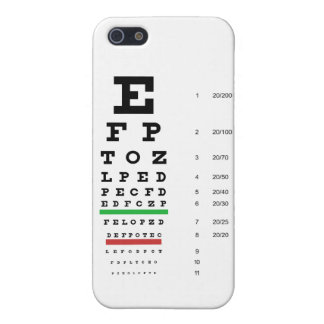 Snellen Eye Chart iPhone SE/5/5s Cover