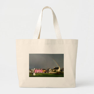 Snem ring of kerry ireland large tote bag