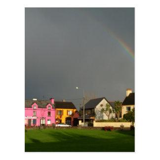 Snem ring of kerry ireland postcard