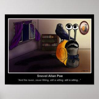 Snevel Allan Poe Poster