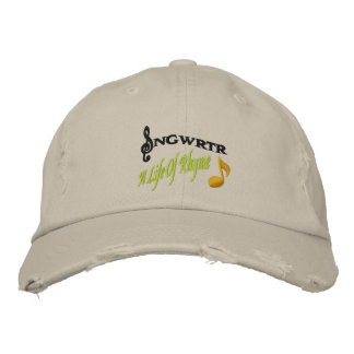 SNGWRTR EMBROIDERED CAP