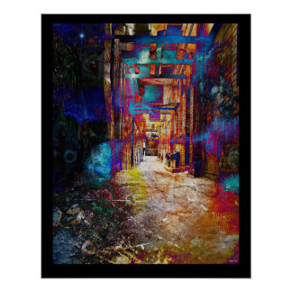 Snickelway of Light Print