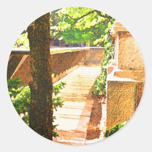 Snickelways Classic Round Sticker