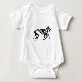 Snicker-Cat Baby Bodysuit