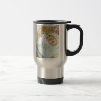 Snickers la taza del viaje del gato