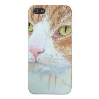 Snickers the Cat Cover For iPhone SE/5/5s