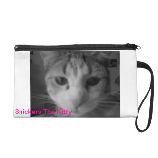 Snickers the Kitty Wristlet