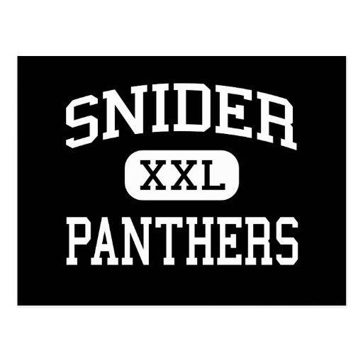 Snider panthers high fort wayne indiana postcard for Custom t shirts fort wayne
