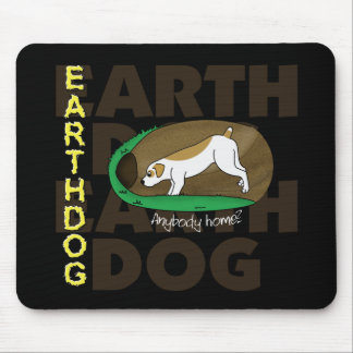 Sniffing Earthdog Mouse Pad