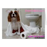 Sniffney Spears Greeting Card
