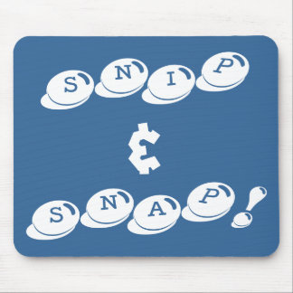 snip & snap mouse pad