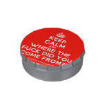 [Crown] keep calm and where the fuck did you come from?!  Snip Snap Tins Candy Tins