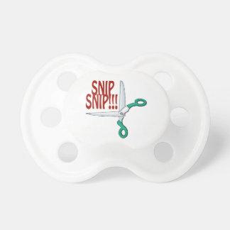 Snip Snip Baby Pacifiers