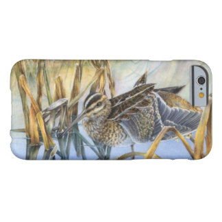 Snipe bird art winter morning iphone case