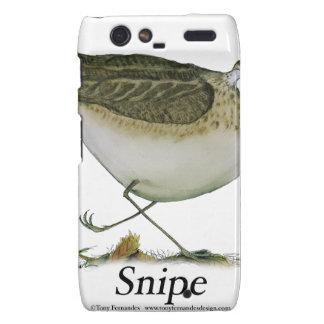 Snipe bird, tony fernandes motorola droid RAZR case
