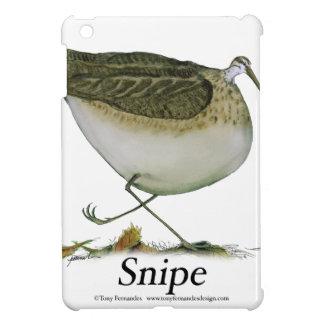 Snipe bird, tony fernandes iPad mini case