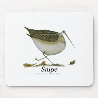 Snipe bird, tony fernandes mouse pad