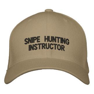 snipe hunting instructor hat