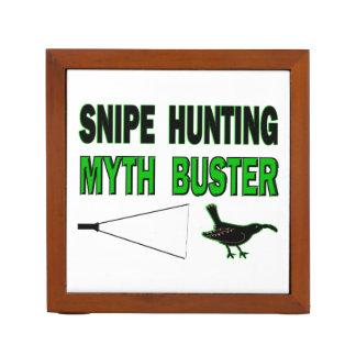 Snipe Hunting Myth Buster Desk Organizer