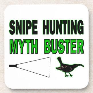 Snipe Hunting Myth Buster Drink Coaster