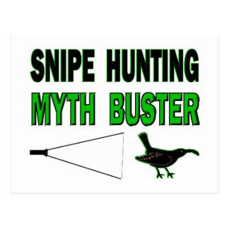Snipe Hunting Myth Buster Postcard