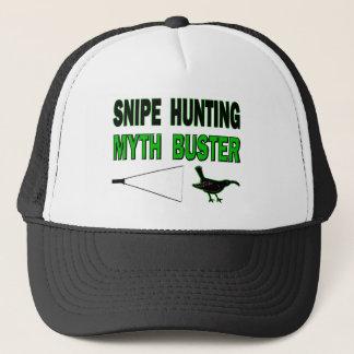 Snipe Hunting Myth Buster Trucker Hat