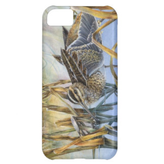 Snipe on a cold morning iphone case
