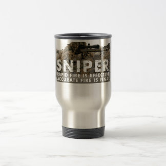 Sniper - Accurate Fire is Final Travel Mug