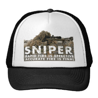 Sniper - Accurate Fire is Final Trucker Hat