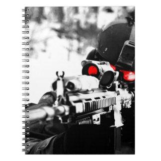 Sniper Art Spiral Notebook