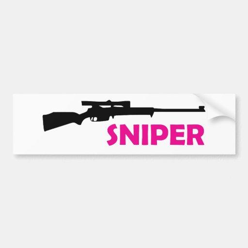 **SNIPER** BUMPER STICKER