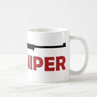 **SNIPER** CLASSIC WHITE COFFEE MUG