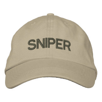 Sniper Embroidered Baseball Hat
