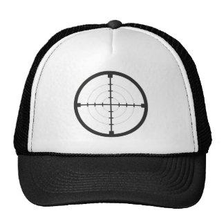 sniper finder target symbol weapon gun army trucker hat
