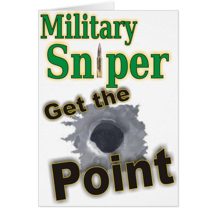 Sniper military(1) card