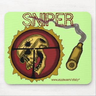 Sniper mousepad design