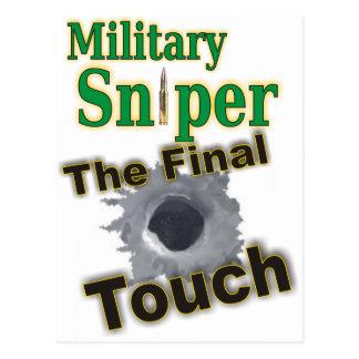 """Sniper """"One Shot One Kill"""" Postcard"""