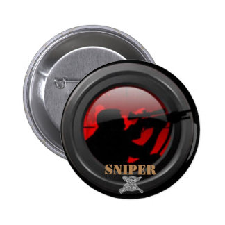 Sniper Pinback Button