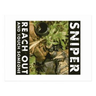 Sniper - Reach Out Postcard