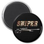 Sniper Refrigerator Magnets