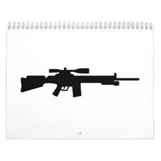 Sniper rifle calendar