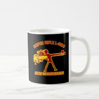 Sniper Rifle L-96A1 Classic White Coffee Mug