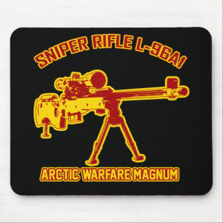 Sniper Rifle L-96A1 Mouse Pad