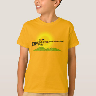 Sniper Rifle (Long Range Wizard) kids gold t-shirt