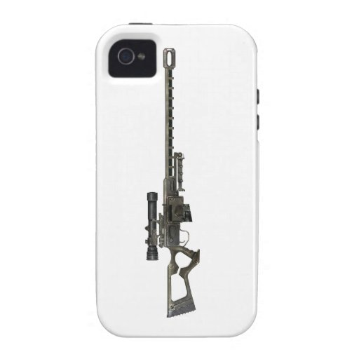 Sniper Rifle Vibe iPhone 4 Cover