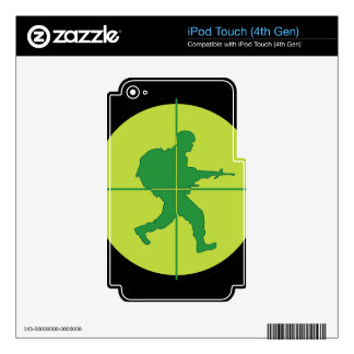Sniper Scope Skins For iPod Touch 4G