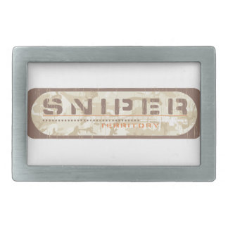 Sniper Shooter Belt Buckle