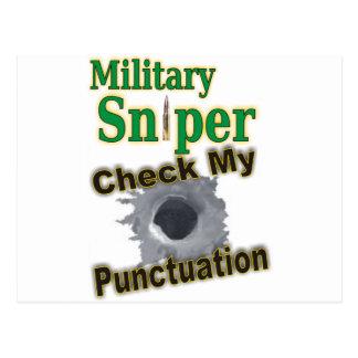 "Sniper ""Shooter"" Postcard"