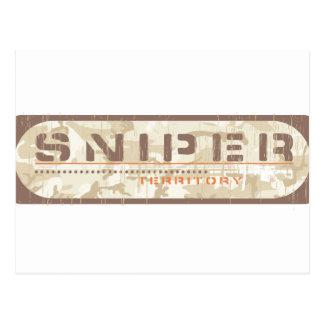 Sniper Shooter Postcard